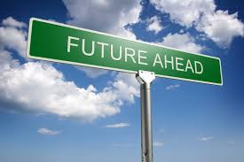 Future ahead sign